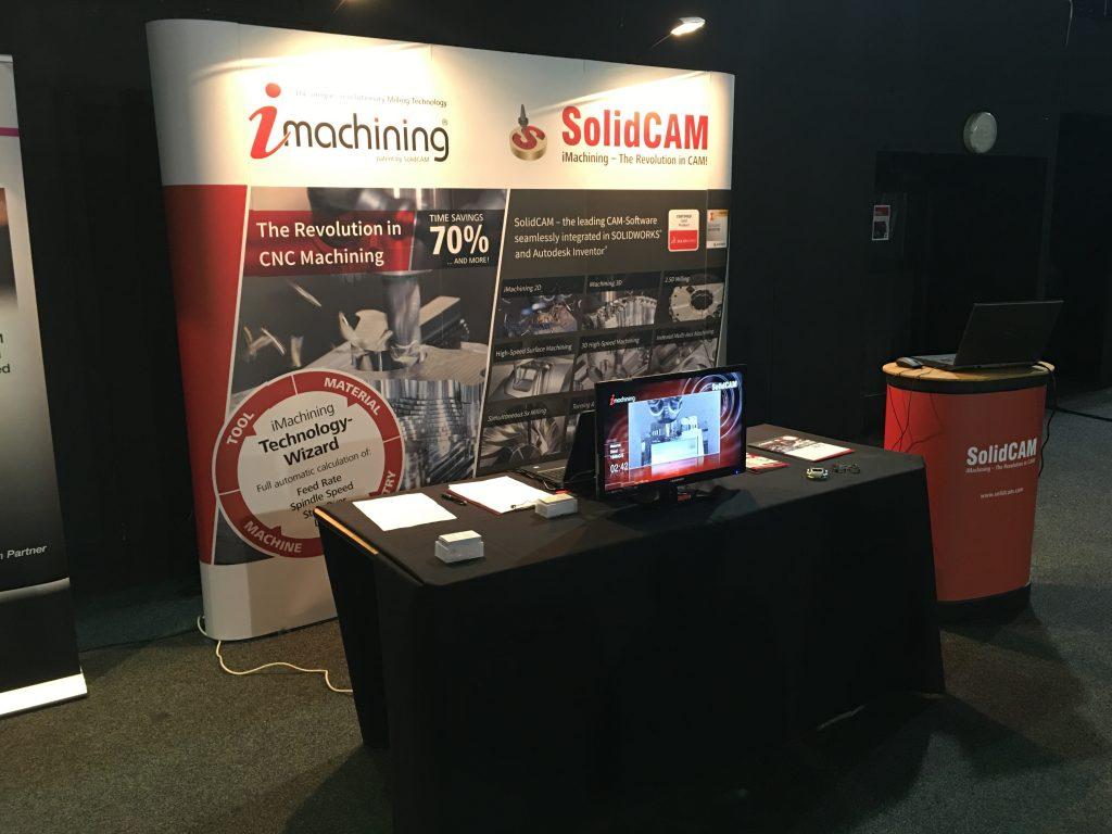 SolidCAM UK Stands