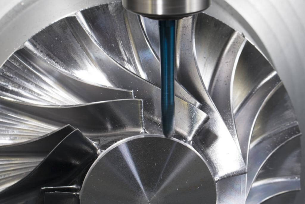 Simultaneous 5 Axis Milling
