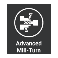 Mill-Turn Button