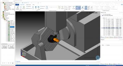 SolidCAM Simulation - Machine Simulation